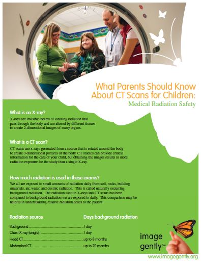 What Parents Should Know about CT Scans for Children