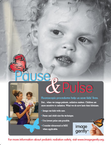 Pause and Pulse Fluoroscopy campaign