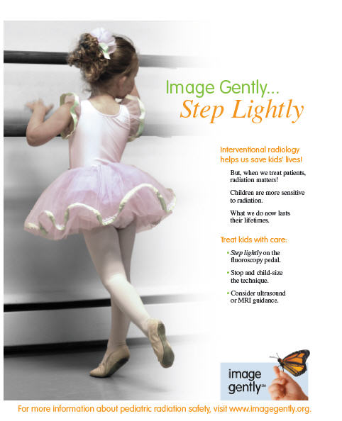 Step Lightly Interventional Radiology campaign